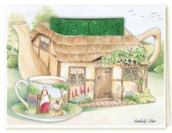 Card Cottage Pot