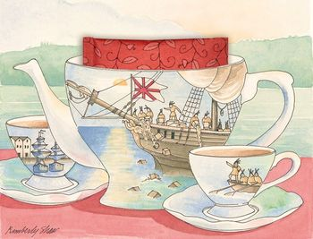 Card Boston Tea Party