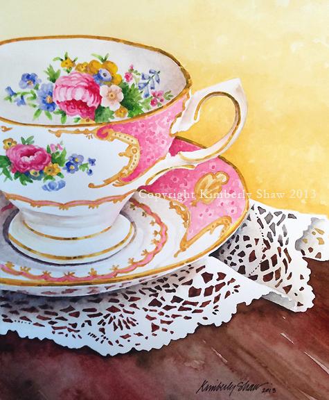 Pink Teacup watermark