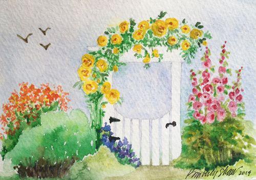 GardenWatercolor