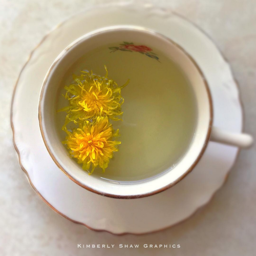 Dandelion Flower Tea