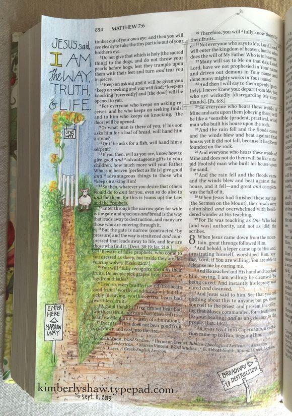 ArtMatthew 7:13-14